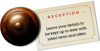 Reception - sign up for the latest news